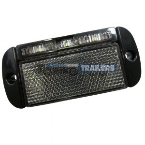 LED Autolamps 44WME White Front Low Profile Trailer Marker Light