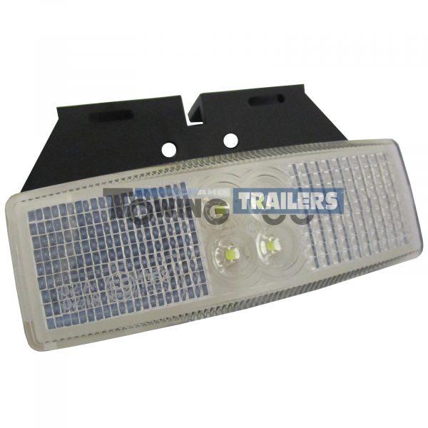 LED Autolamps 1490 Series White Bracket Mount Trailer Marker Light