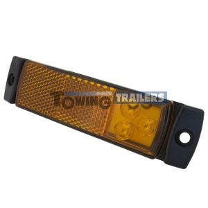 LED Autolamps 129 Series Amber Trailer Marker Light