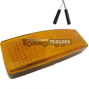 LED Autolamps 1490 Series Amber Harness Trailer Marker Light