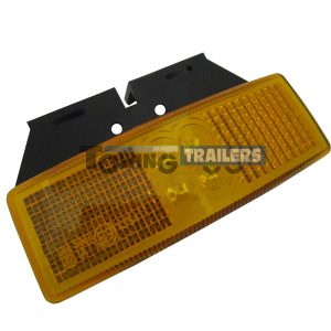 LED Autolamps 1490 Series Amber Bracket Mount Trailer Marker Light