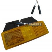 LED Autolamps Amber Bracket Mount Harness Marker Light