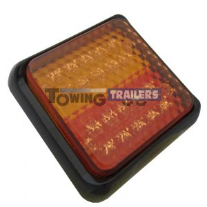 LED Autolamps Multivolt 100mm Stop Tail Indicator Light