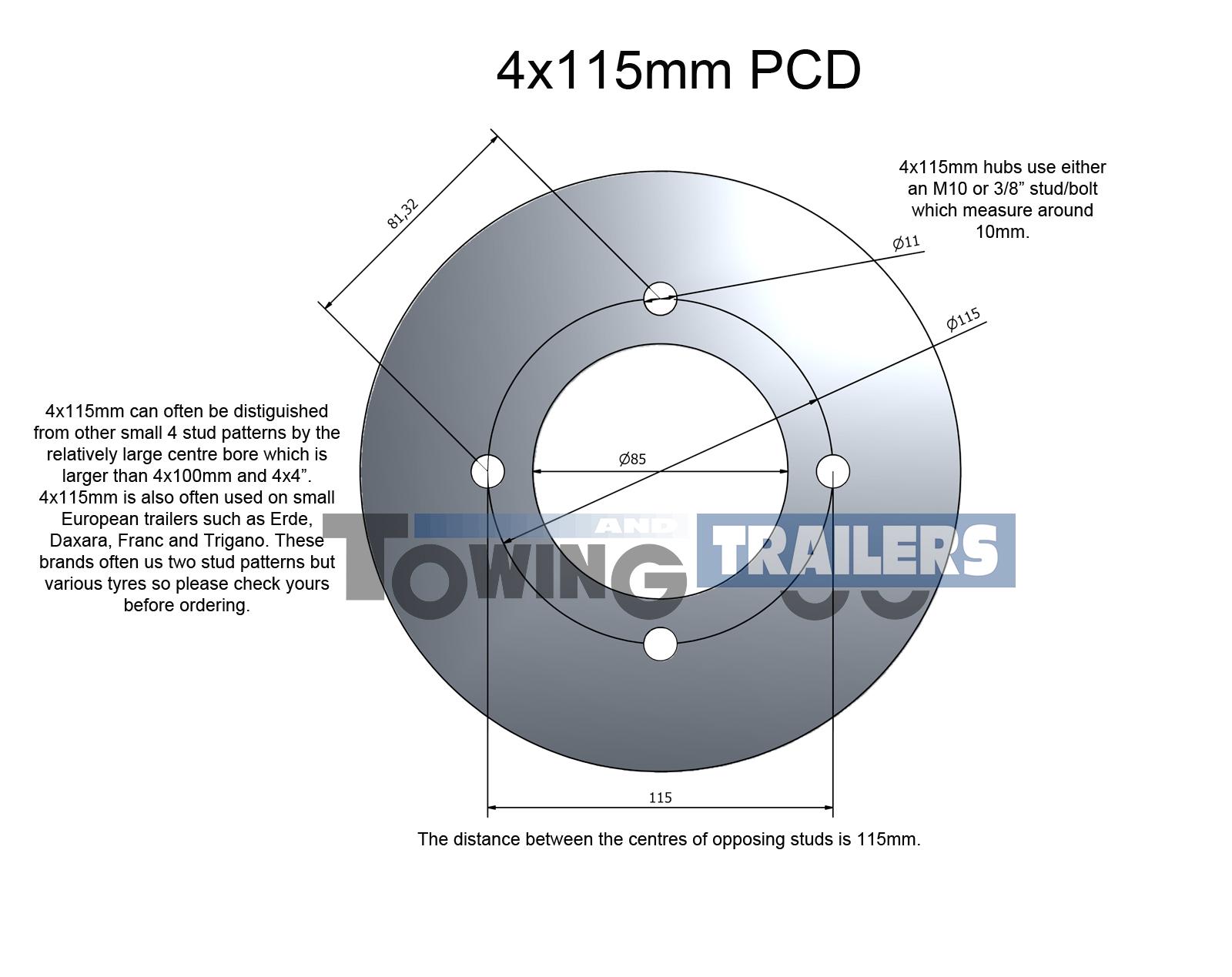4x100mm PCD