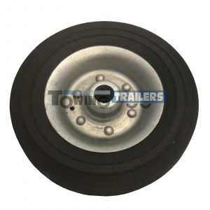 Replacement Knott 200x55mm Wheel 34mm Trailer Jockey Wheel