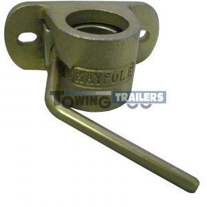 Maypole 48mm Cast Steel Trailer Jockey Wheel Clamp