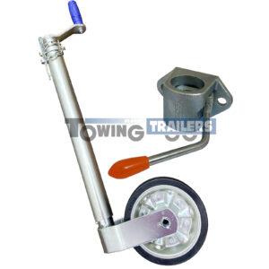 Maypole Jockey Wheel Kit - 48mm Kartt Cast Steel Clamp