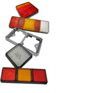 LED Autolamps Multifunction Rear Trailer Lights