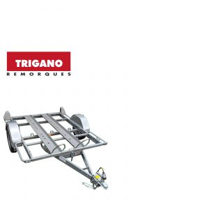 Trigano 2 Bike Trailer with 2 Rails