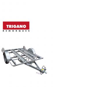 Trigano 2 Bike Trailer 2 Rails 1 Ramp