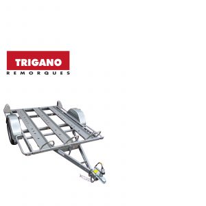 Trigano 750kg 3 Bike Trailer 3 Motorbike Rails