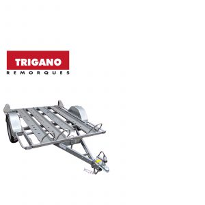 Trigano Multy 750kg 3 Bike Trailer 3 Rails 1 Loading Ramp