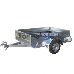 Trigano Multy 750kg Box Trailer Wooden Floor Side Panels
