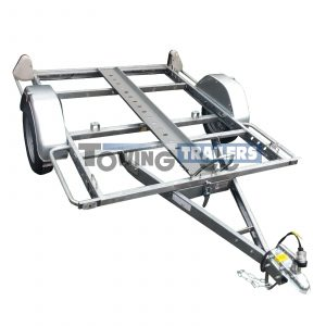 Trigano Single Bike Trailer 750kg x1 Rail