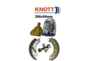 200X50MM Knott Avonride Trailer Brakes and Parts