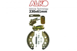 200x51mm Alko Trailer and Caravan Brakes and Parts