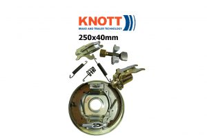 250x40mm Knott Avonride Trailer Brakes and Parts
