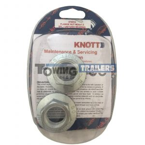 2x Genuine Knott Avonride M24 One Shot Hub Nuts 32mm