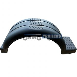 13 inch Plastic 1 Step Right Side Trailer Mudguard