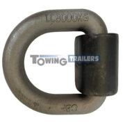 8000kg Trailer Lashing Link Cleat - Steel 8 Tonne Heavy Duty