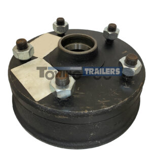 Peak 200x50mm Brake Drum - Trailer Wheel Hub Taper Roller Bearings