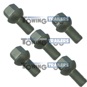 M14 IWT Wheel Bolts - Ifor Williams Trailer Brake Drum Spares