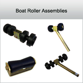 Boat roller assembly kits
