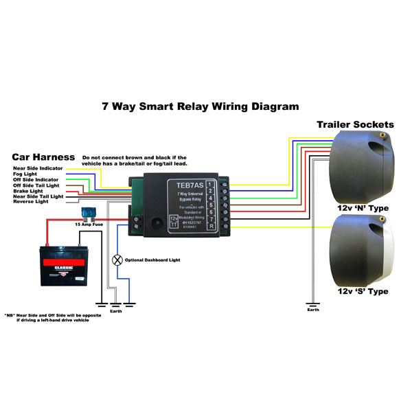 smart bypass relay teb7as 7 way towing and trailers ltd rh towingandtrailers com